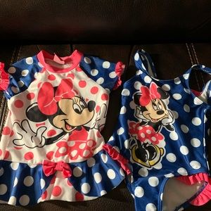 Toddler swimsuit & coverup